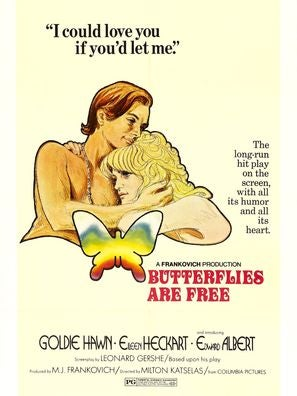 Butterflies Are Free movie poster