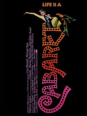 Cabaret movie poster