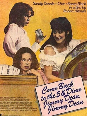 Come Back To The Five and Dime, Jimmy Dean, Jimmy Dean movie poster