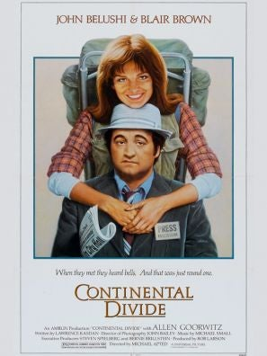 Continental Divide movie poster