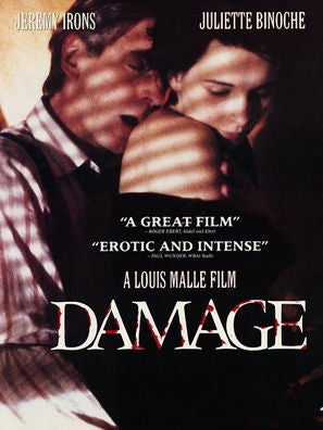 Damage movie poster
