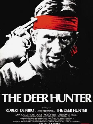 Poster for the film The Deer Hunter