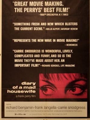 Diary of a Mad Housewife movie poster