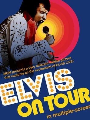 Elvis on Tour movie poster
