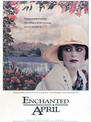 Enchanted April movie poster
