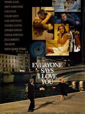 Everyone Says I Love You movie poster