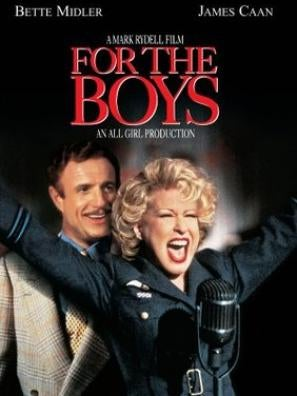 For The Boys movie poster