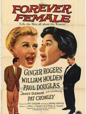 Forever Female movie poster
