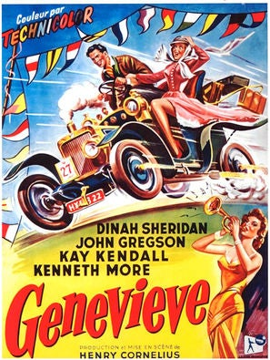 Genevieve movie poster