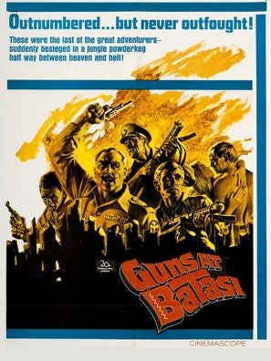 Guns at Batasi movie poster