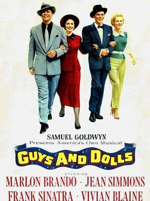 Guys and Dolls movie poster