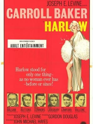 Harlow movie poster