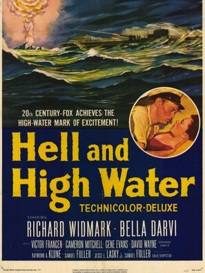 Hell and High Water movie poster