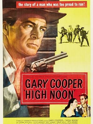 Poster for film High Noon
