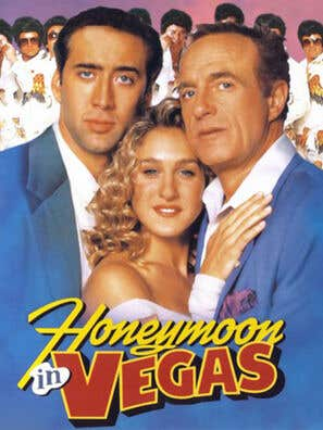 Honeymoon in Vegas movie poster
