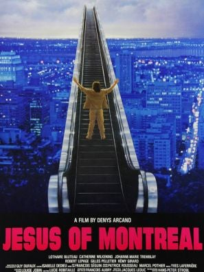 Jesus of Montreal movie poster