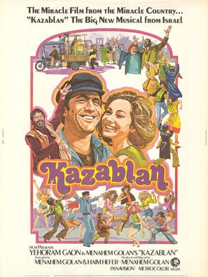 Kazablan movie poster