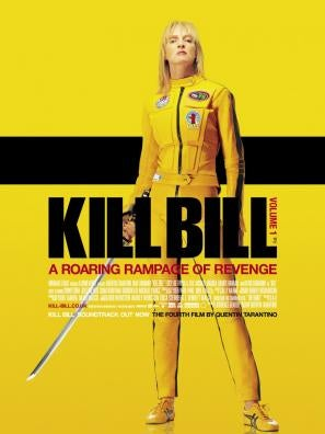 Kill Bill Vol 1 movie poster