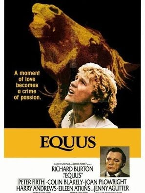 Golden Globe winner Equus