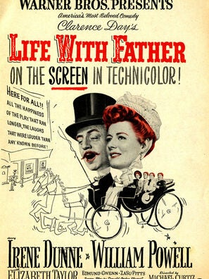 Life with Father movie poster