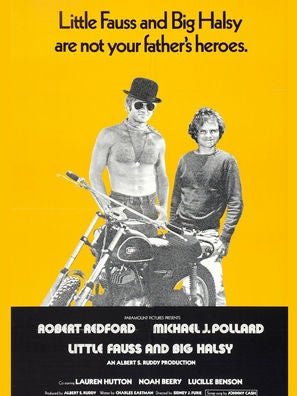 Little Fauss and Big Halsey movie poster