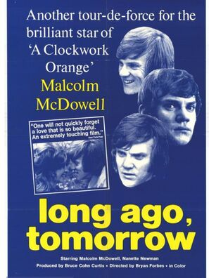 Long Ago Tomorrow movie poster