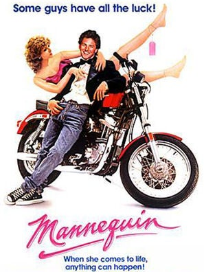 """Mannequin"" movie poster"