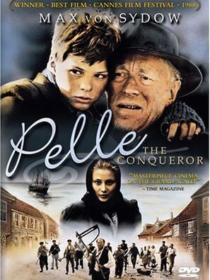 Poster of the Danish movie Pelle The Conqueror