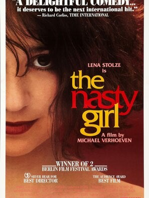 The Nasty Girl movie poster