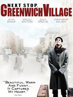 Next Stop, Greenwich Village movie poster