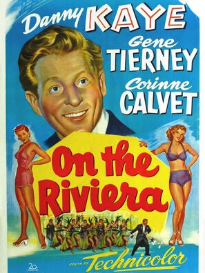 On The Riviera movie poster