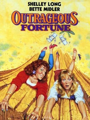 Outrageous Fortune movie poster