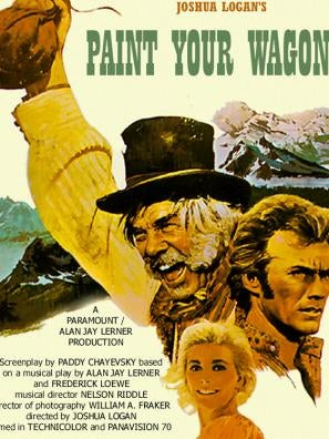 Paint Your Wagon movie poster