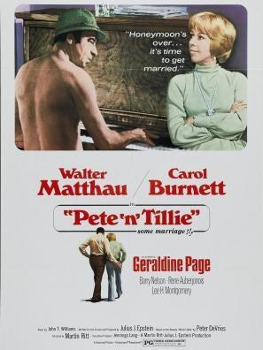 Pete 'n' Tillie movie poster