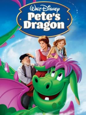Pete's Dragon - 1977 movie poster