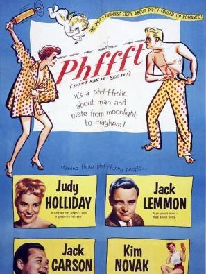 Phffft! movie poster