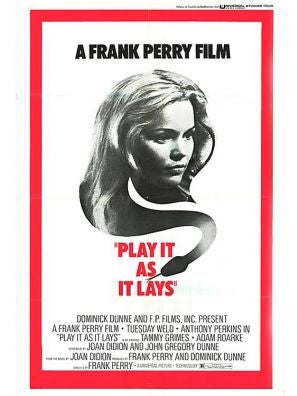 Play It As It Lays movie poster