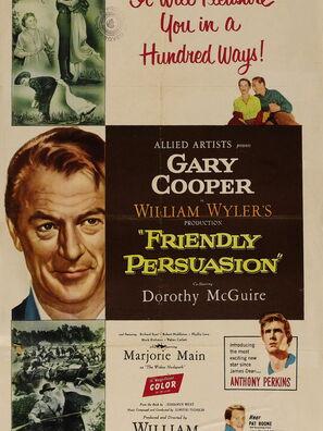 Golden Globe nomineee Friendly Persuasion, 1956