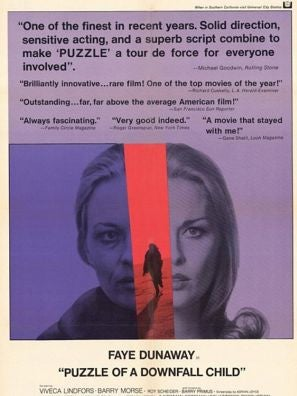 Puzzle of a Downfall Child movie poster