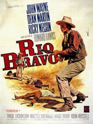 Rio Bravo movie poster