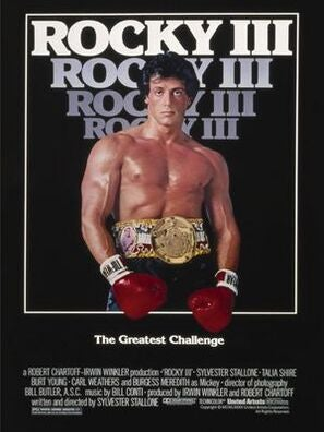 POster for Rocky III