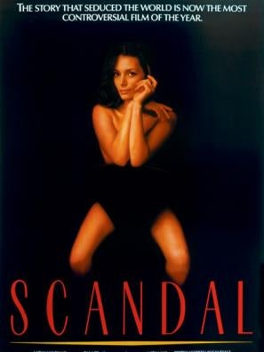Scandal movie poster