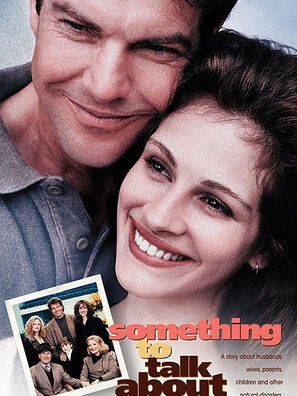 Something To Talk About movie poster