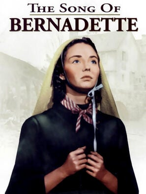 The Song of Bernadette movie poster