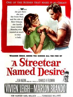A Streetcar Named Desire (1951) movie poster
