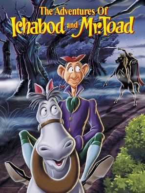 The Adventures of Ichabod and Mr. Toad movie poster