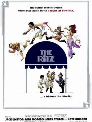 The Ritz movie poster