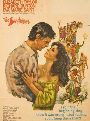 The Sandpiper movie poster
