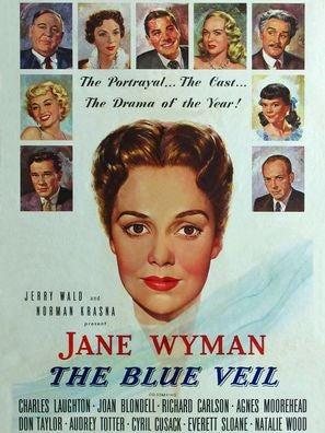 The Blue Veil movie poster