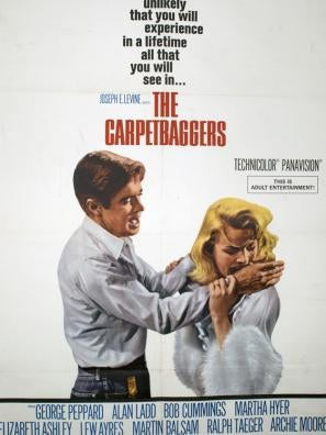 The Carpetbaggers movie poster